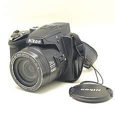 nikon-coolpix-p500-compact-digital-camera---black---121-mp---36x-optical-zoom---moi-90-2432